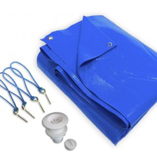 capa de proteção para piscina em PVC